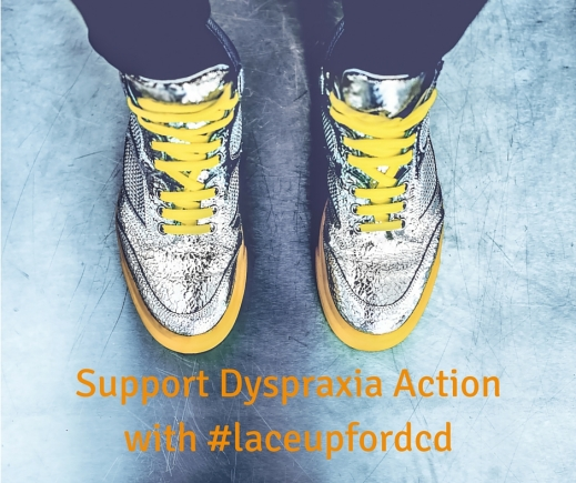 Support Dyspraxia Action with #laceupfordcd
